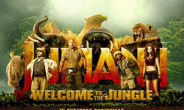 Jumanji: Welcome to the Jungle in theaters soon
